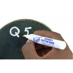 """Nissen - 00572 - Nissen Black Feltip Galvanizers Tube Paint Marker With 1/8"""" Wide Point"""