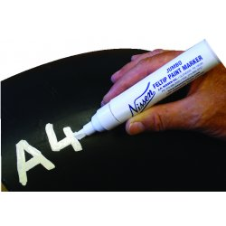 Nissen - 09003 - Nissen Red Feltip Jumbo Paint Marker With 5/16' Wide Point