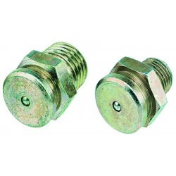 "Lincoln Industrial - 5706 - 1/4""npt Button Head Fitting Zinc/yellow"