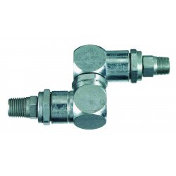 Lincoln Industrial - 81387 - High Pressure Swivel, 1/2-27 x1/4 In