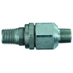 "Lincoln Industrial - 82399 - 1/2""-27 Male X1/4"" Npt Male Straight Va, Ea"