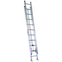 Louisville Ladder - AE2820 - Extension Ladder, Aluminum, IA ANSI Type, 11 ft. Ladder Height