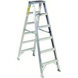 Louisville Ladder - AM1004 - 4 ft. 300 lb. Load Capacity Aluminum Twin Stepladder