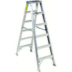 Louisville Ladder - AM1012 - 12 ft. 300 lb. Load Capacity Aluminum Twin Stepladder