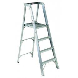 "Louisville Ladder - AP1016 - Aluminum Platform Stepladder, 17 ft. 1"" Ladder Height, 15 ft. 3"" Platform Height, 300 lb."
