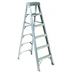 louisville ladder as1014 14 ft 300 lb load capacity aluminum stepladder. Black Bedroom Furniture Sets. Home Design Ideas