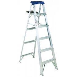 Louisville Ladder - AS3004 - Stepladder, Alum, 4 ft., 300 lb.