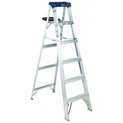 Louisville Ladder - AS3006 - 6 ft. 300 lb. Load Capacity Aluminum Stepladder