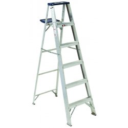 Louisville Ladder - AS4006 - 6 ft. 225 lb. Load Capacity Aluminum Stepladder