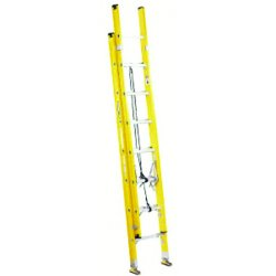 Louisville Ladder - FE1720 - Extension Ladder, Fiberglass, I ANSI Type, 10 ft. Ladder Height