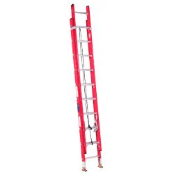 Louisville Ladder - FE3220 - Extension Ladder, Fiberglass, IA ANSI Type, 10 ft. Ladder Height