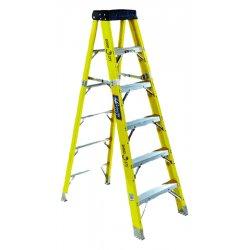 Louisville Ladder - FS1106HD - 6 ft. 375 lb. Load Capacity Fiberglass Stepladder