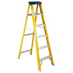 Louisville Ladder - FS2004 - 4 ft. 250 lb. Load Capacity Fiberglass Stepladder