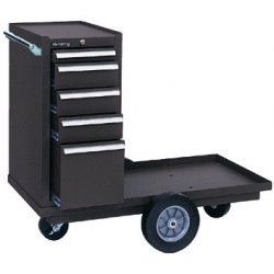 "Kennedy - 435B - Brown Combination Tool Chest/Cabinet, Industrial, Heavy Duty, Versa Cart, Width: 43-1/8"", Depth: 20-"