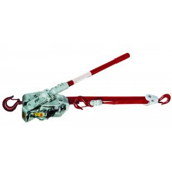 Lug-All - 3B - 1-1/2t Web Strap Winch-hoist W/latch Hook & Hot
