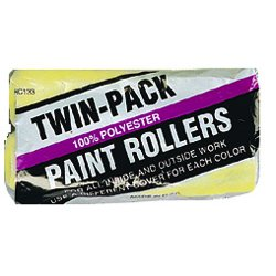 "Linzer - RC133-9 - 9"" Twin Pack Roller Cover Pk/2"