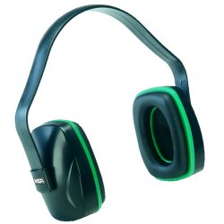 MSA - 10004291 - Black Ear Muff, Noise Reduction Rating NRR: 20dB, Dielectric: Yes