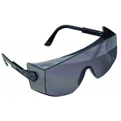 MSA - 10008175 - MSA Sightgard Over-The-Glasses Safety Glasses With Blue Frame And Clear Polycarbonate Tuff-Stuff Anti-Fog Anti-Scratch Lens