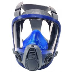 MSA - 10031341 - Bayonet Connection Full Face Respirator, European Style 4 Point Suspension, L