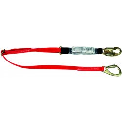 MSA - 10047084 - Lanyard, 1 Leg, Nylon, Red