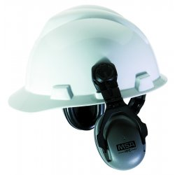 MSA - 10061272 - MSA HPE Black And Gray Cap Mount High Performance Earmuffs For Slotted Hard Caps