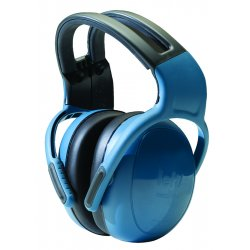 MSA - 10087426 - 25dB Over-the-Head Ear Muff, Blue&#x3b; ANSI S3.19-1974, CSA Class A and EN352-3