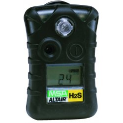 MSA - 10092521 - MSA ALTAIR Portable Hydrogen Sulphide Monitor With Alarms @ 10/15 PPM, ( Each )