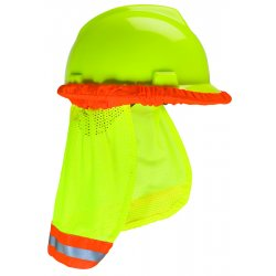 MSA - 10098032 - MSA Yellow And Green Polyester Protector Sunshade