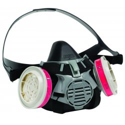 MSA - 10102182 - MSA Small Advantage 420 Series Half Mask Air Purifying Respirator, ( Each )
