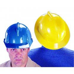 MSA - 454719 - MSA White TopGard Polycarbonate Full Brim Hard Hat With 1 Touch Suspension