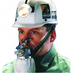MSA - 455299 - MSA One Size Fits Most W-65 Self Rescuer Series Mouthbit Air Purifying Respirator, ( Each )