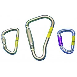 MSA - 506308 - Carabiner, Steel, 8-3/4 In. L, Auto-Lock