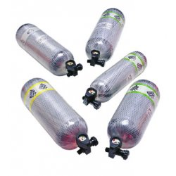 MSA - 807588 - 1-hr Air Cylinder & Valv, Ea