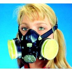 MSA - 808074 - Comfo(TM) Classic Half Mask, Rubber, M