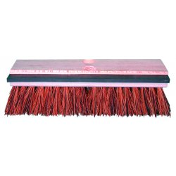 "Magnolia Brush - 110-S - 10""palmyra W/squeegee Deck Brush L/h"