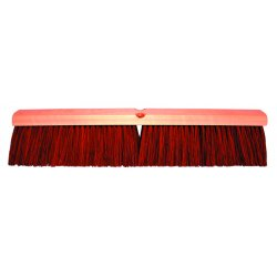 "Magnolia Brush - 1218 - 18"" Garage Brush W/b60 2e8b2d Brown Plast"