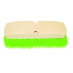 Magnolia Brush - 1411-G - Green Flagged Plastic Window Brush Req.c60 Hndl.