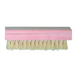 """Magnolia Brush - 176 - White Tampico Hand & Nail Brush 4-3/4"""" X 1-"""
