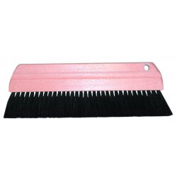 Magnolia Brush - 190 - Pure Black Horsehair Cement Smoother Br
