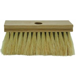 Magnolia Brush - 196-T - White Tampico Roofers Brush W/threaded