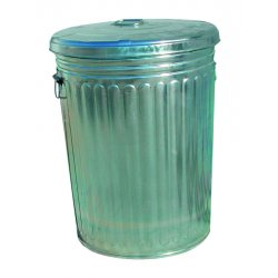 Magnolia Brush - 20GALLON-W/LID - 20 Gallon Galvanized Trash Can With Lid