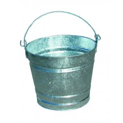 Magnolia Brush - 20QT - Galvanized Pails (Pack of 12)