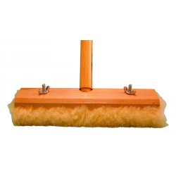 "Magnolia Brush - 2316 - 16"" Lambswool Wax Applicator W/w54 Handle"