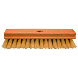 "Magnolia Brush - 4017-P - 1"" Rug Scrub Brush W/a48343b3d Cream Plast"