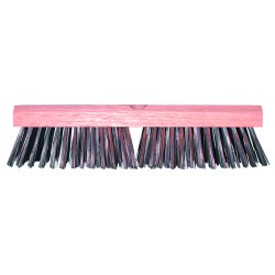 "Magnolia Brush - 412-S - 12""carbon Steel Wire Deck Brush W/o H"