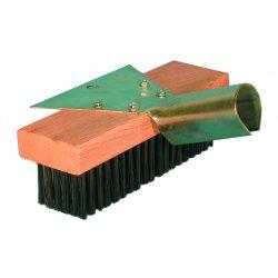 """Magnolia Brush - 5-SC-15 - 15"""" Wire Scratch Brush W/scraper Without Han"""