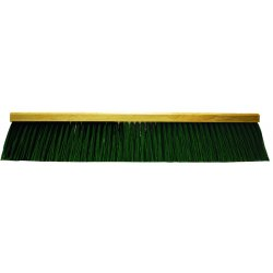 "Magnolia Brush - 5524-FX - 24"" Stiff Green Poly Flexsweep Garage Brush"