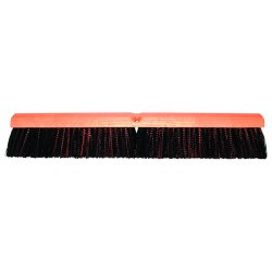 "Magnolia Brush - 5624 - 24"" Floor Brush W/m60 337c1ad Red & Black"