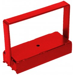 Magnet Source - 07210 - 150# Pull Heavy Duty Handle Magnet Red