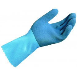 MAPA - 301429 - Style Ll-301 Size X Large Blue Grip Rubber Glove